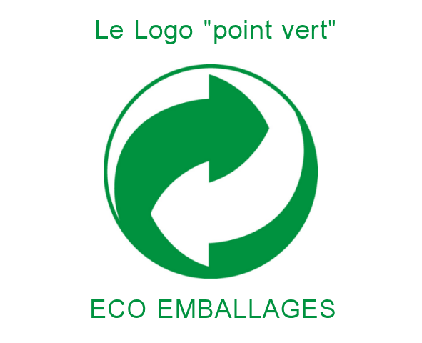 Logo point vert eco emballage recyclage 1
